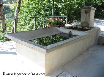 inventaires des fontaines lavoirs et bassins de l 39 is re commune de la garde en oisans is re. Black Bedroom Furniture Sets. Home Design Ideas